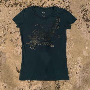 Armani Exchange women's xs t-shirt